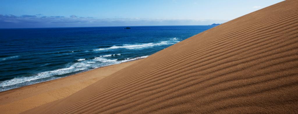 鳥取砂丘背景