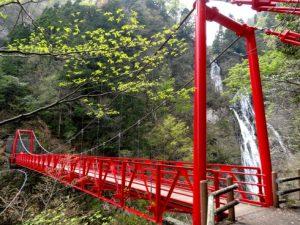 三滝吊り橋