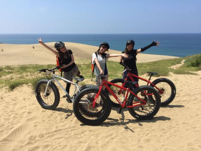 2019シーズンスタート!鳥取砂丘でファットバイクに乗ってアウトドアを満喫!