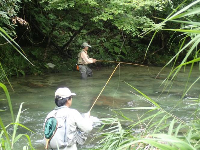 2018年 渓流釣り体験