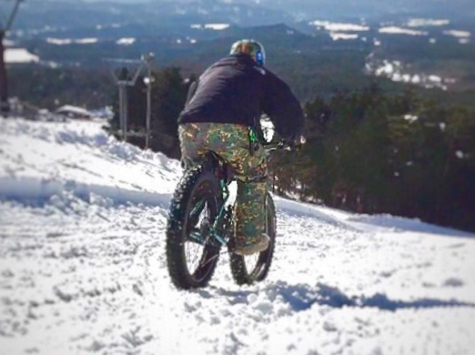 「MTB SNOW RIDE IN WAKASA HYOUNOSEN&TSUGURO KOUGEN」