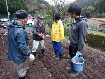 ☆2018きんか芋の植え付け体験☆